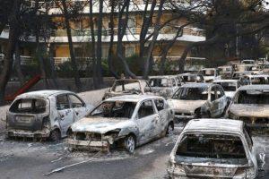 Μέτρα για τους πληγέντες από τις καταστροφικές πυρκαγιές στην Αττική