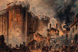 «Η πτώση της Βαστίλης - 14 Ιουλίου 1789» της Αντιγόνης Καρύτσα