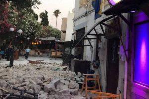 Ισχυρός σεισμός έπληξε την Κω - Δύο οι νεκροί και περισσότεροι από εκατό οι τραυματίες