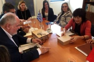 Τεχνολογική συνεργασία Ελλάδας - Κίνας