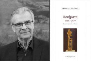 Διαδικτυακή παρουσίαση του νέου βιβλίου του Τάσου Κουράκη, «Ποιήματα 1995-2020»