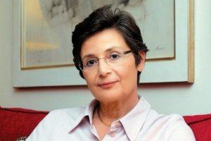 Η Τατιάνα Αβέρωφ στη Λέσχη Ανάγνωσης Αστυνομικής Λογοτεχνίας της Βιβλιοθήκης Χαριλάου