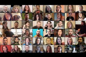 ThesSingers - Σχήμα Λόγου: 43 καλλιτέχνες από τη Θεσσαλονίκη σε ένα ιστορικό τραγούδι