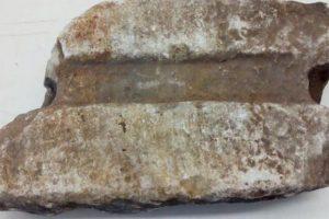 Επαναπατρισμός θραύσματος λίθινου αγωγού από την Αρχαία Ολυμπία