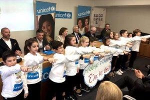 Η UNICEF δίπλα στα παιδιά στη Μάνδρα