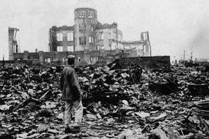 «Η ρίψη της ατομικής βόμβας στη Χιροσίμα - 6 Αυγούστου 1945» της Αντιγόνης Καρύτσα