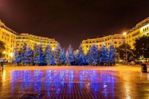 Ξεκινούν σήμερα οι χριστουγεννιάτικες εκδηλώσεις στη Θεσσαλονίκη