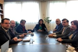 Συνάντηση της πολιτικής ηγεσίας του Υπουργείου Παιδείας με το Προεδρείο της Συνόδου των Πρυτάνεων