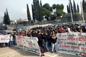 Ένταση σήμερα στο Υπουργείο Παιδείας - Κατάληψη στο γραφείο του Κ. Γαβρόγλου