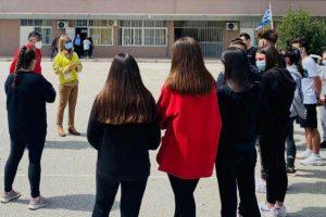 Σχολικές μονάδες του Βόλου επισκέφτηκε σήμερα η Υφυπουργός Παιδείας Ζέτα Μακρή