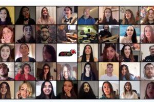 Θεσσαλονίκη: 39 μαθητές του Ωδείου AMS στέλνουν ένα δυνατό μήνυμα ελπίδας - «Ζήσε με αγάπη»